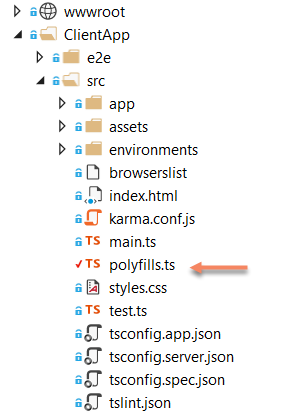 Angular file list